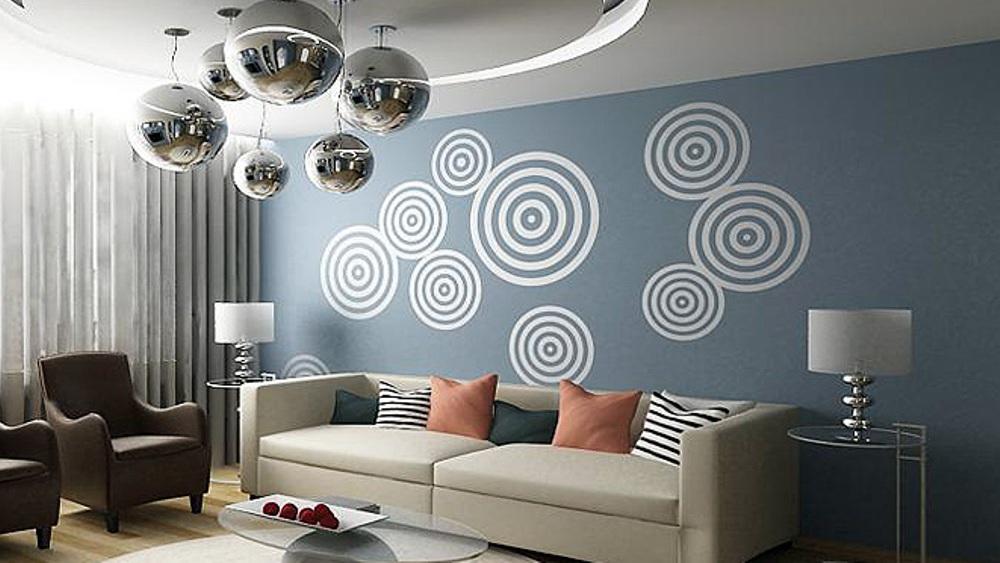 трафареты для окраски стен
