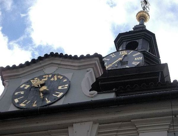 еврейская ратуша в праге