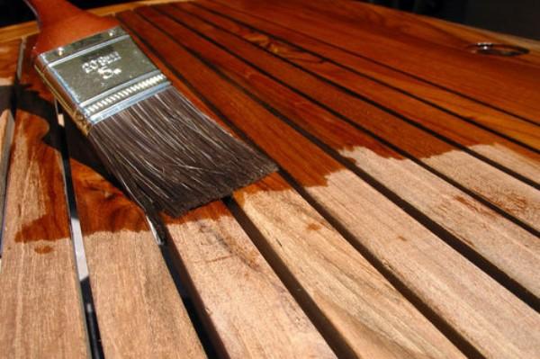обработка древесины антисептиком
