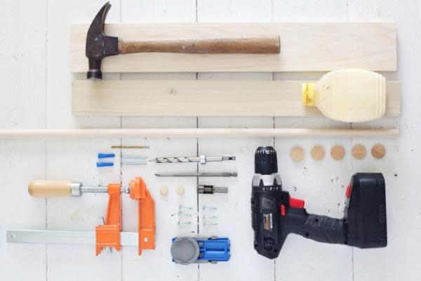 инструменты для полки на кухне