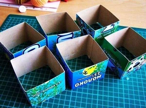 шкатулка из бумаги