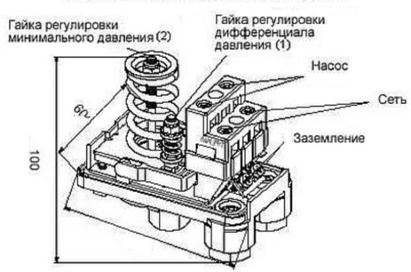 Настройка реле насосной станции своими руками